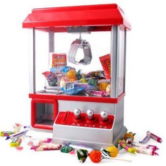 Kinderen op de babyborrel kunnen stil beziggehouden worden door zelf hun doopsuiker op te vissen! Altijd een topper! Arcade Candy Grabber