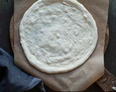 Sourdough pizza crust. We love a good, thin pizza crust, and we do mean LOVE IT. It's fun to make, you can make it a few days in advance, which is great if you are hosting a party, or just don't have the time on busy weekdays. We usually make our dough 3 days in advance, or when we have the time one day in advance. Sourdough starter gives the dough a light, fluffy inside, and crusty outside. Perfection.