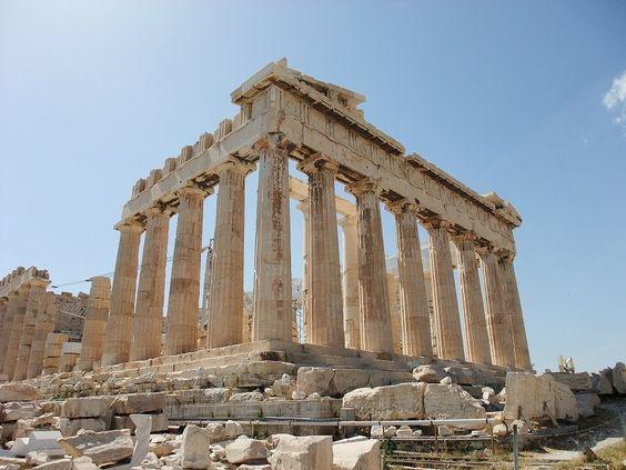 アテネのアクロポリス ギリシャ