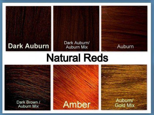 auburn color hair chart » Female Area | Hair | Pinterest | Dark ...