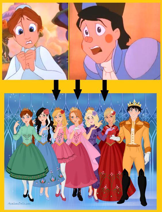 (The Nutcracker Prince) Hans & Clara's family | Sasha's ...