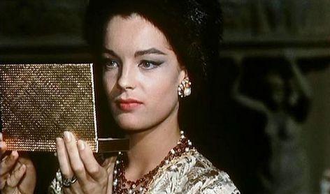 Роми Шнайдер в фильме Боккаччо '70 (1962) Л.Висконти поболтать