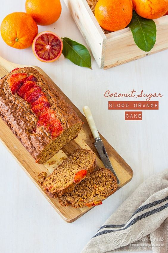 Coconut Sugar Blood Orange Cake recipe | ledelicieux.com