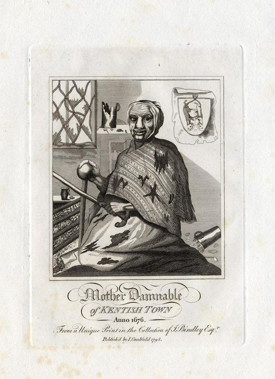 James Caulfield...Mother Damnable... 1676