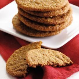 Ginger Crinkle Cookies @EatingWell