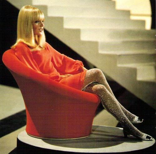 France Gall. wonderful stockings