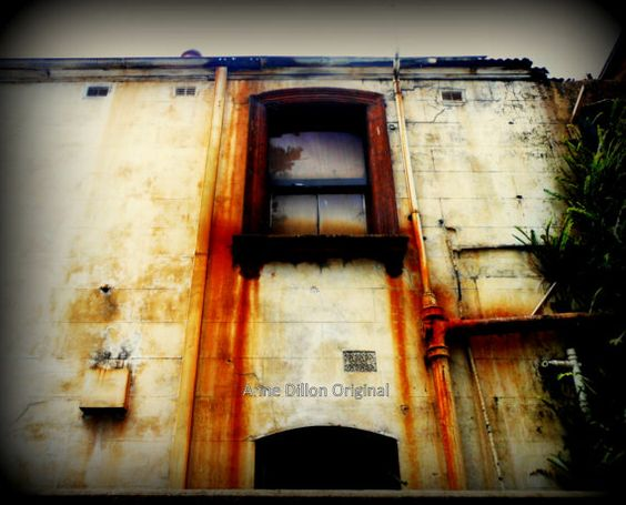 Rustic building photograph Photographic Art by FourBlueSquares
