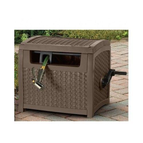 Hose Reel Outdoor Storage Water Lawn Garden SunCaster 175 ft Capacity New