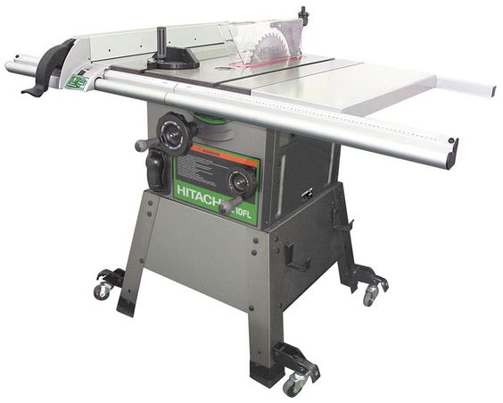 Hitachi Power Tools Australia C10fl Cabinet Table Saw Tools Pinterest Table Saw