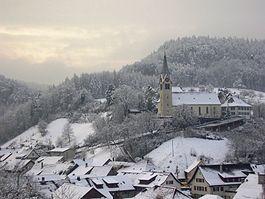 Würenlingen-Roman Catholic church.  35 Kilometers/ 45 minutes NW or Zurick.  Kaspar Meier originated here.