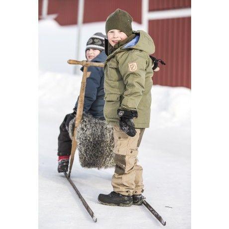 Fjällräven - Kids Greenland Down Parka   For Kids / För Barn ...
