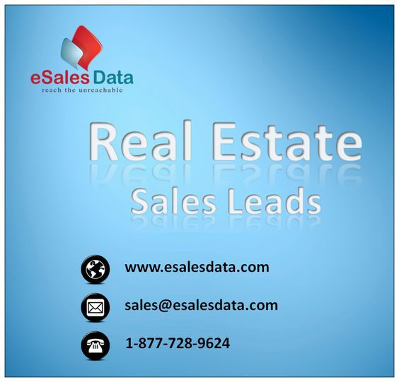 eSalesData Real Estate Sales Leads