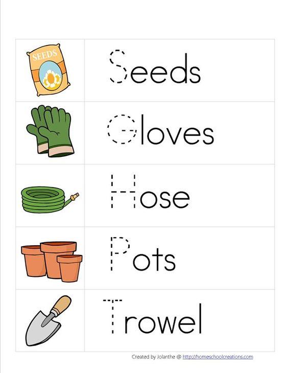 Pinterest the world s catalog of ideas for Gardening tools preschool