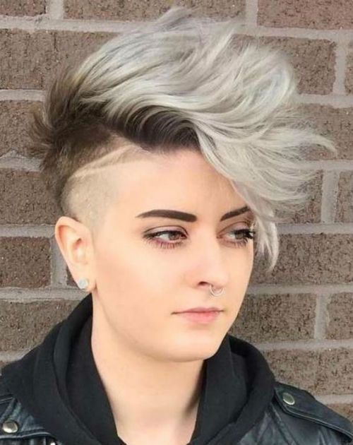 Modish Edgy Undercut Funky Haircut Styles For Girls To Look Terrific This Summer Messy Hairstyle Undercut Hairstyles Short Pixie Haircuts Cool Hairstyles