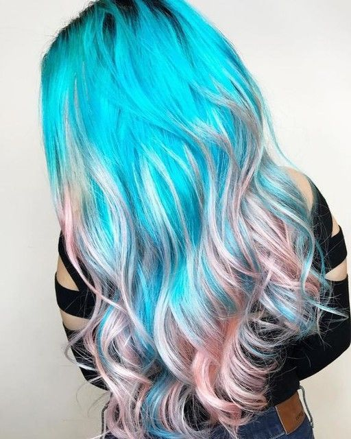 Get This Look By Combining Yer Fave Lime Crime Unicorn Hair Dye