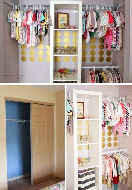 Diy Small Closet Ideas Incredible Simple Small Closet