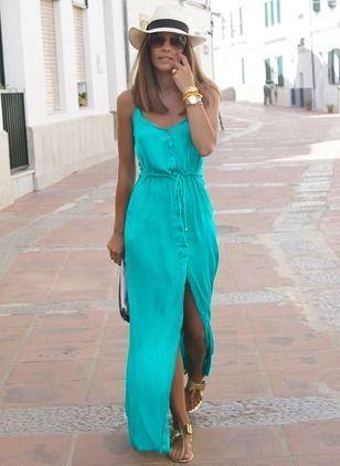 Dicas e tendências para o verão 2019! #blogs #moda #tendências #verão2019 #vestidolongo #vestidos