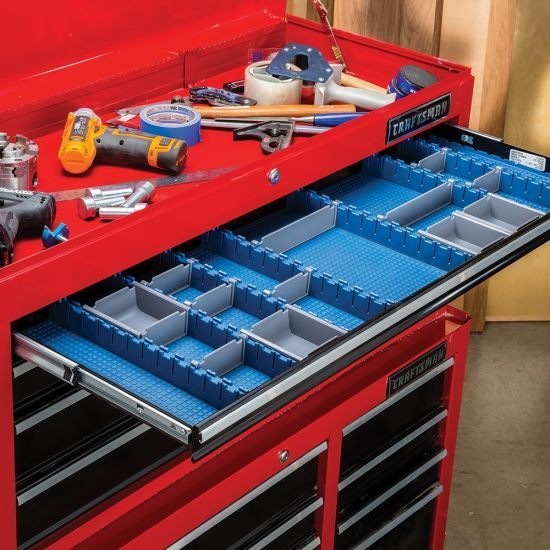 Rockler Lock Align Drawer Organizer System Starter Kit Drawer Organisers Tool Box Organization Organizing Systems