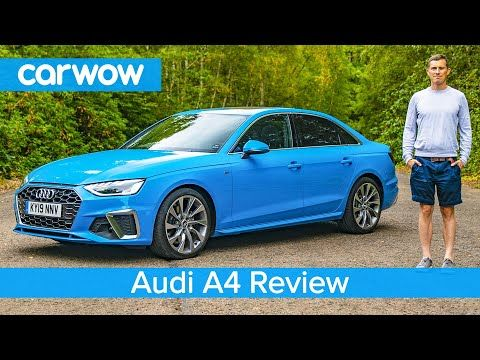 All Cars New Zealand Video Audi A4 2020 In Depth Review Carwow Revie Audi A4 Audi New Bmw