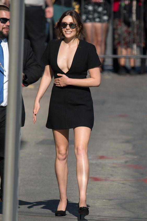 Elizabeth Olsen Hollywood Avengers Hot Stylish Actress
