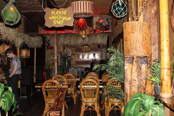 The Shameful Tiki Room