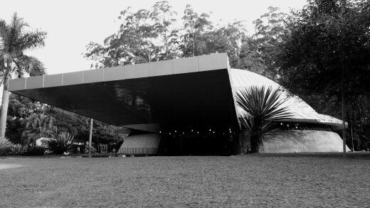 Planetario Municipal do Parque do Ibirapuera.