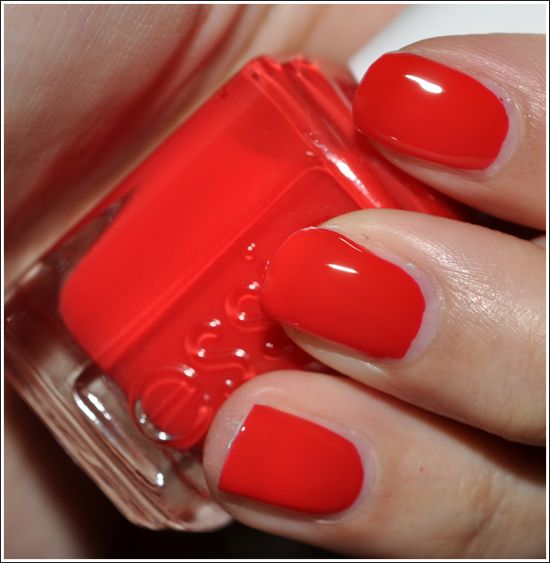Essie lollipops and red nails on pinterest for 5th ave nail salon