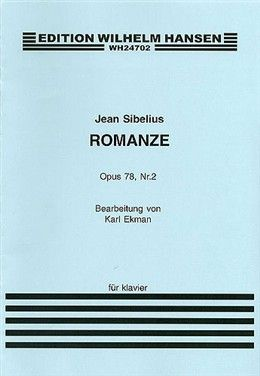 Romanze by Jean Sibelius ...very tricky piece but awfully beautiful once it's mastered.: Music Teaching, Tricky Piece, It S Mastered