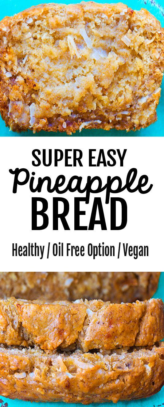 Delicious Easy Pineapple Bread Recipe