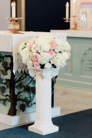 Wedding flower decorations - Dan and Melissa