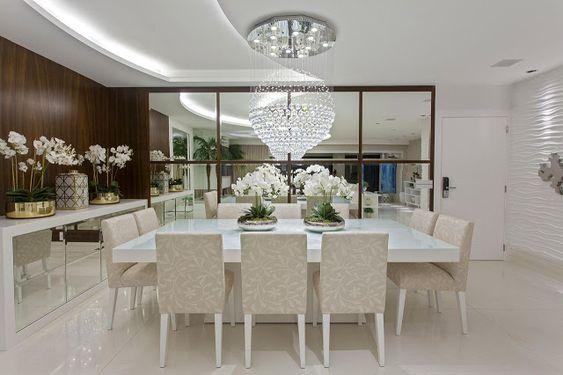 Construindo Minha Casa Clean: Sala de Jantar com Escada - Inspiração e Design de Interiores!