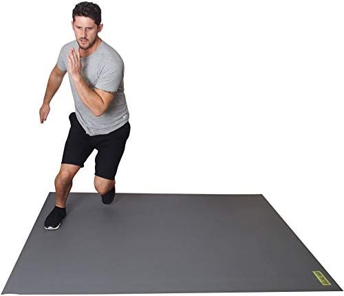 Enjoy Exclusive For Square36 Large Exercise Mat 6ft X 5ft 72 X60 Perfect Cardio Kickboxing Mma Hiit Tam This Multipurpose Workout Mat Use Without S Large Workout Mat Mat Exercises Cardio Kickboxing