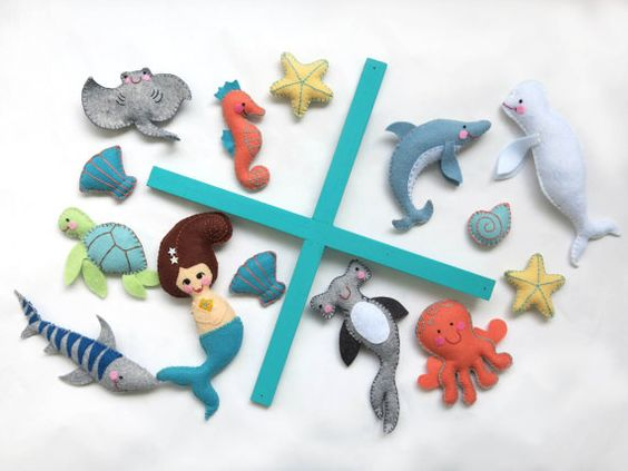 Baby mobiles, Felt mobile and Mobiles