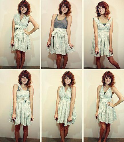 Infinity dress. SO cute.