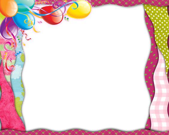 Birthday Frames Templates birthday border png - google search happy ...