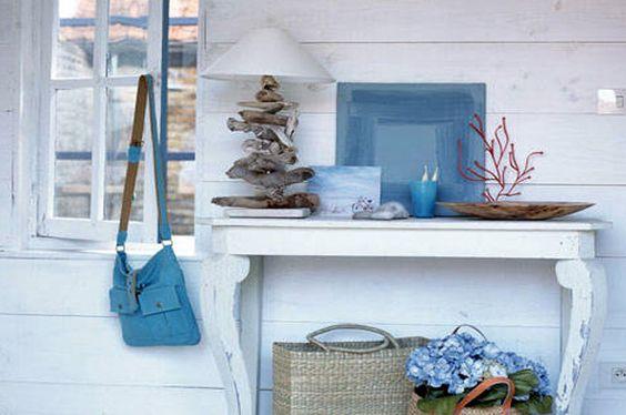 Arredare casa mare oggetti romantici a seaside cottage for Oggetti arredo casa