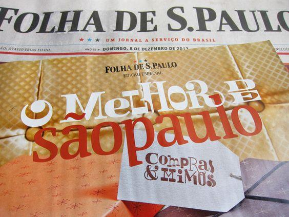 Folha · O melhor de sãopaulo · Compras & Mimos 2013 on Behance