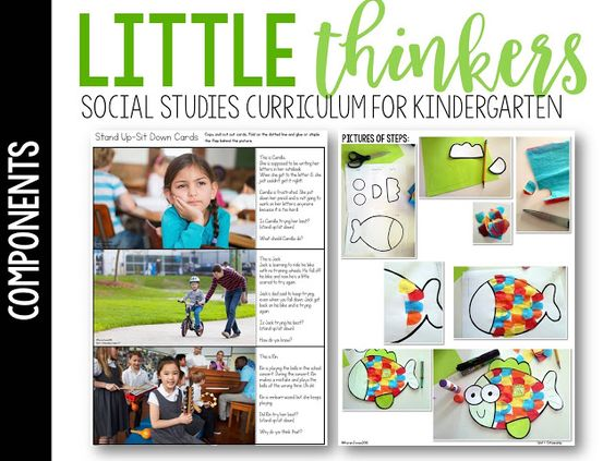 Little Thinkers: A Social Studies Curriculum Just for Kinders