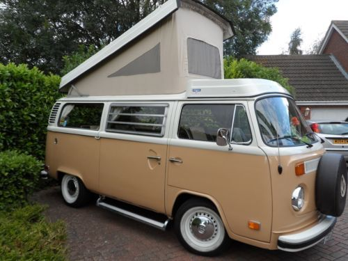 vw t2 bay window westfalia camper van 1979 bespoke. Black Bedroom Furniture Sets. Home Design Ideas
