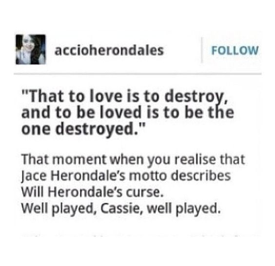 The Mortal Instruments, The Infernal Devices // Cassandra Clare                                                                                                                                                     More