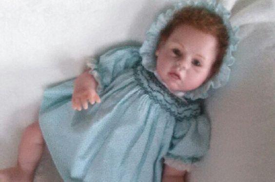 Reborn baby girl by GrandmasdollshopUS on Etsy https://www.etsy.com/listing/468405225/reborn-baby-girl