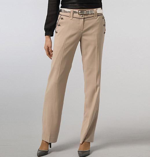 فكر مهندس كرامة Pantalon Vestir Beige Mujer Ffigh Org