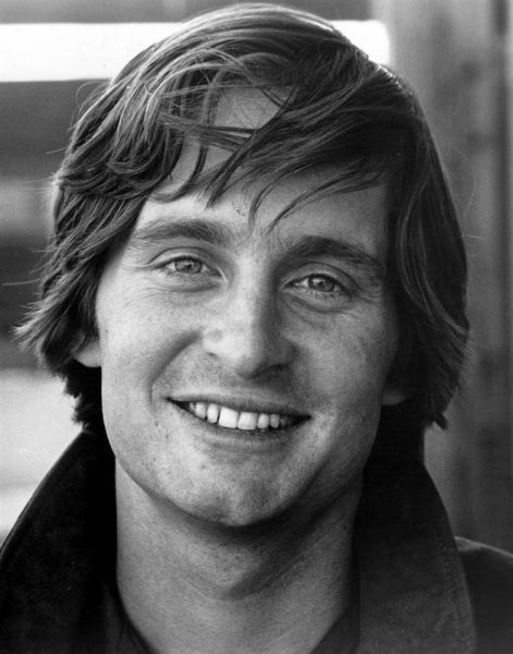Michael Douglas. Talk about cute.