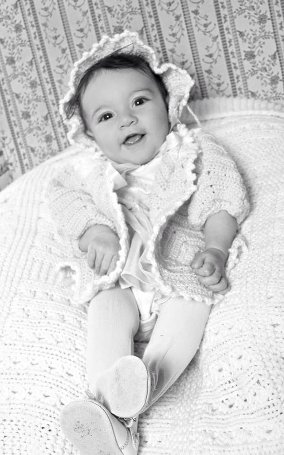 Vintage Baby Shoot, Eureka Photography