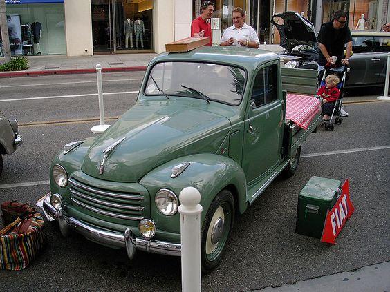 1951 Fiat 500 Topolino Truck