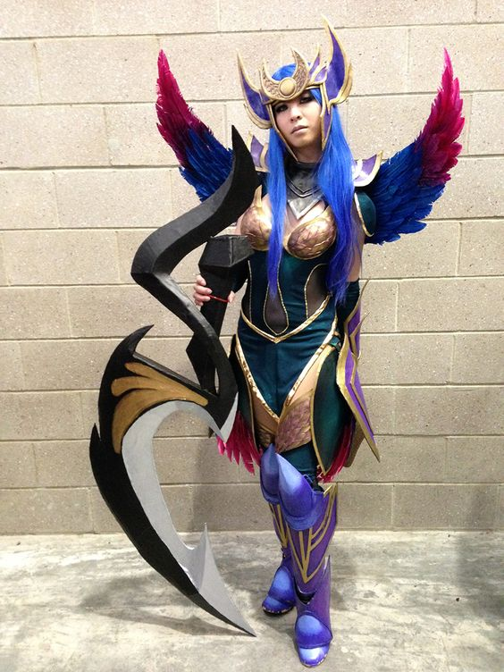 Cosplay, League of Legends and Diana on Pinterest