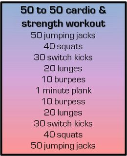 quick and sweaty at home circuit workout: