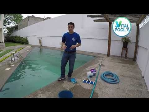 Limpiar El Agua Verde De Tu Alberca Floculacion De Alberca Con