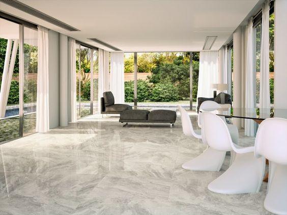 Porcel nico imitaci n al m rmol gris claro brillo modelo for Bathroom decor nairobi