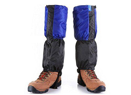 1 Pair Waterproof Outdoor Hiking Walking Climbing Hunting Legging Gaiters